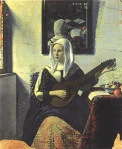 Woman Playing Music