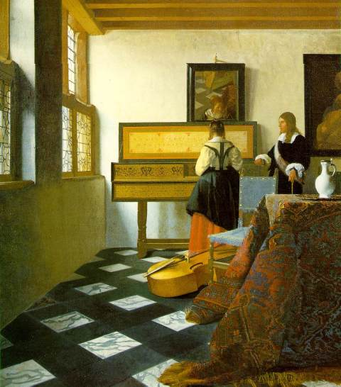 The Music Lesson (1662-1665)