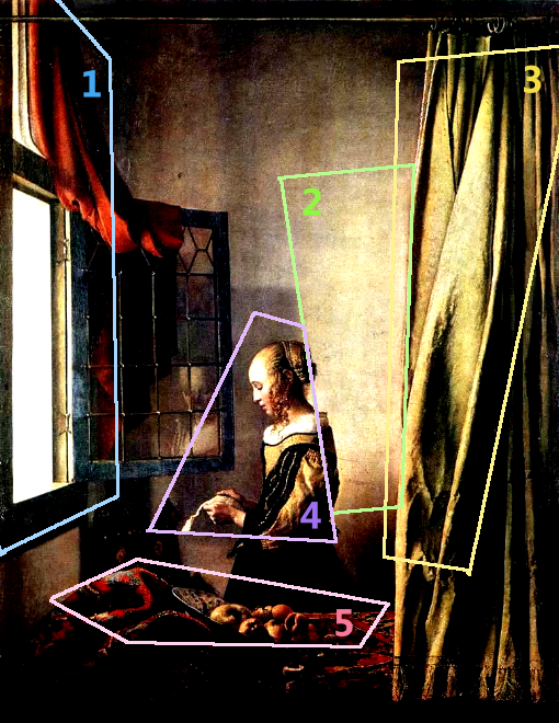 girl reading a letter at an open window reading a letter by an open window 2 johannes 21954 | light